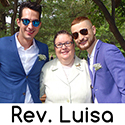 Manhattan New York Same-Sex Wedding Reverend - Rev. Luisa Porrata