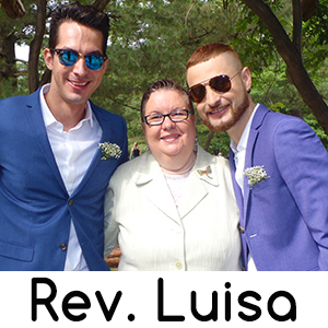 Manhattan New York LGBT Wedding Officiant