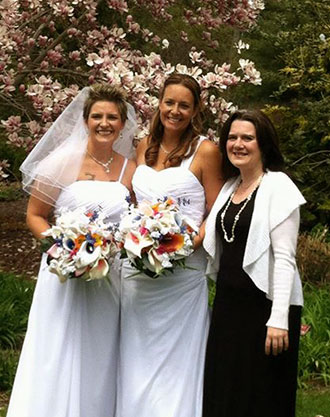 Lasting Footprints Reverend Sarah Margaret - Lesbian marriage officiant
