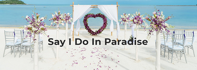 Paradise Weddings - Something Blue Travels - LGBT Destination Wedding Travel Agent