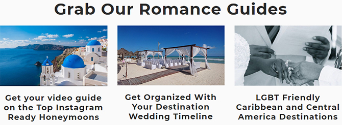 Romance Travel Guides - Something Blue Travels - LGBT Destination Wedding Travel Agent