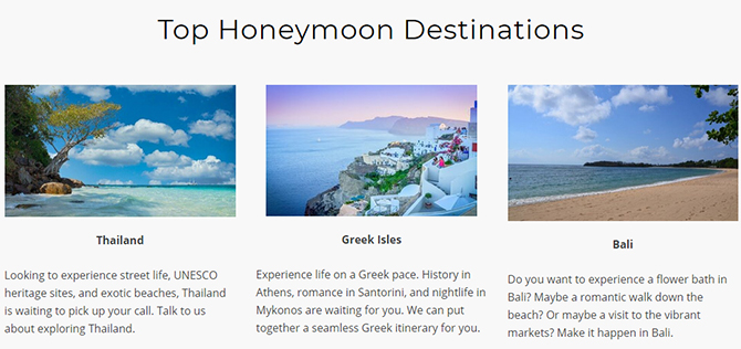 Top Honeymoon Destinations - Something Blue Travels - LGBT Destination Wedding Travel Agent