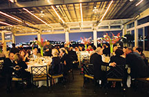 Sunset Terrace at Chelsea Piers - black tie affair