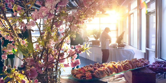 Sunset Terrace at Chelsea Piers - Buffet