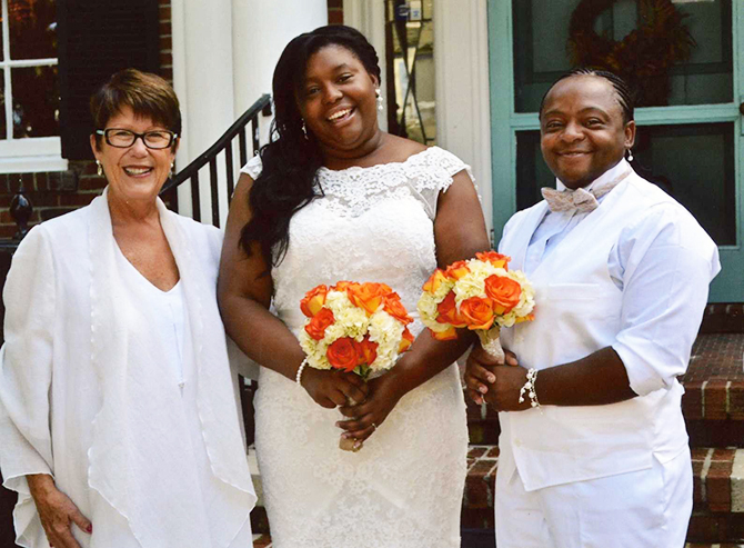 Rev. Tanya Young Outer Banks Weddings - LGBT Wedding Ceremony