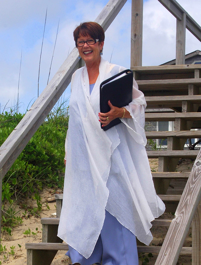 Rev. Tanya Young Outer Banks Weddings - Wedding Officiant