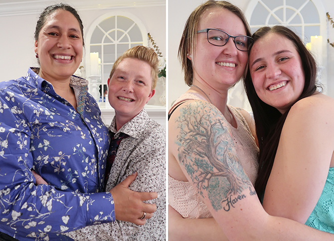 Raleigh, North Carolina LGBTQ Wedding Officiant - Tiny Weddings by Tina