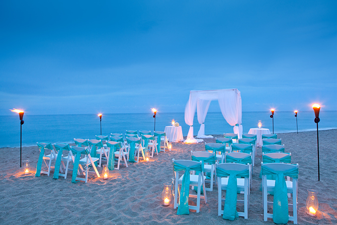 Your First Step Beach Ceremony Site