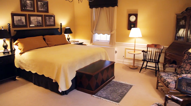 The Wooster Inn master guest suite