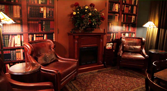 The Wooster Inn Ohio Guest Lounge