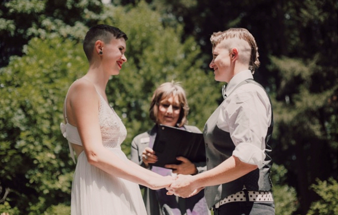 Gay Marriage Ceremony - Diva Matters Ministry