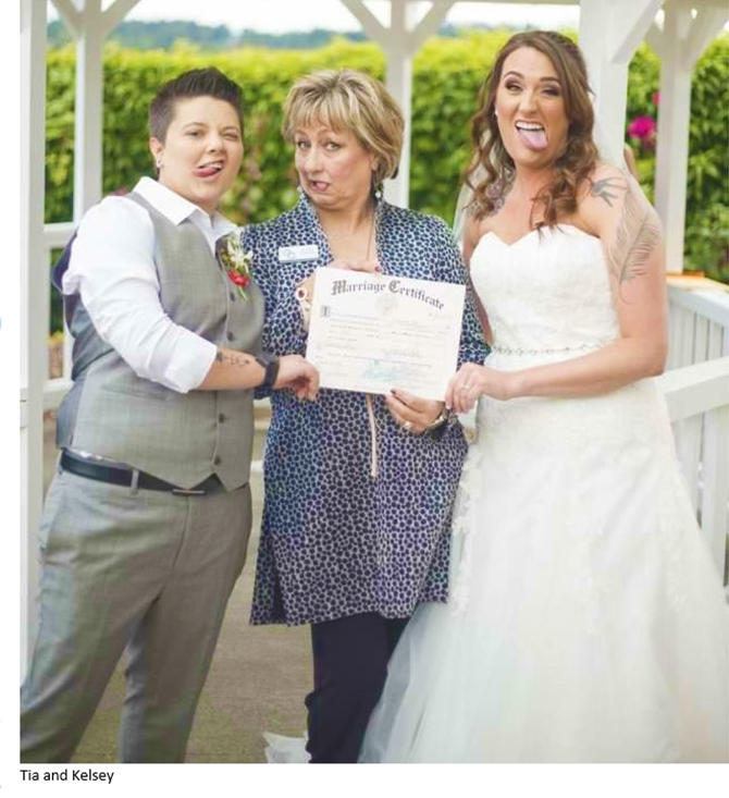 LGBTQ+ Wedding in Oregon - Diva Matters Ministry