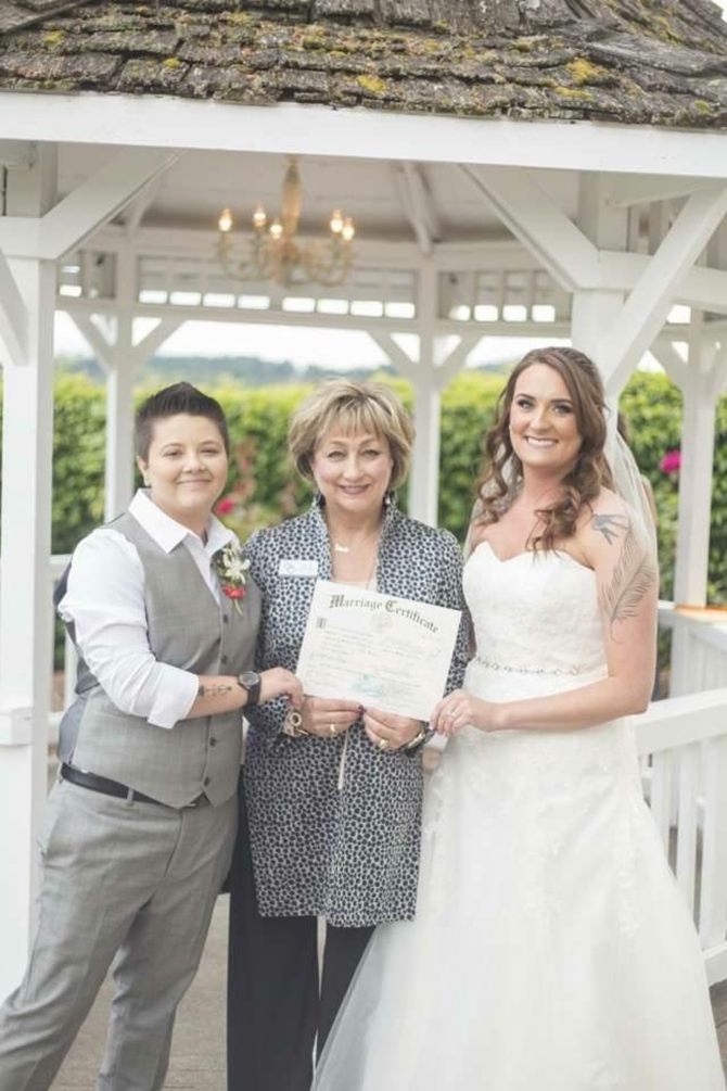 LGBT Wedding in Oregon - Diva Matters Ministry
