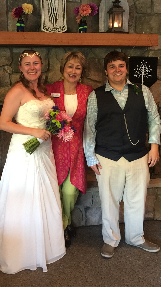 LGBTQ Wedding Officiant Oregoin - Diva Matters Ministry