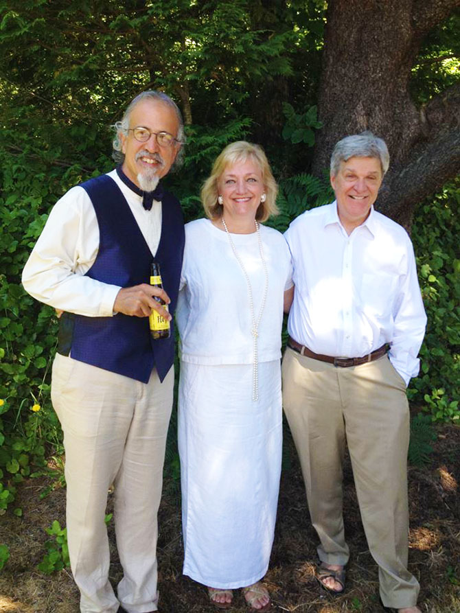 Heart Rock Ceremonies Theresa Tuffli LGBT Wedding Officiant in Oregon