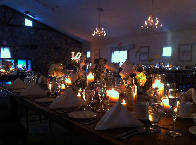 HollyHedge Estate - Romantic wedding receptions