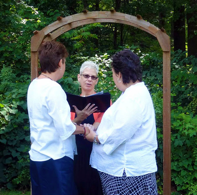 Reverend Pamela Brehm - LGBT Wedding Ceremony