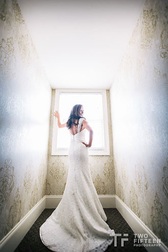 Spring Hollow Golf Club - Photograph of bride