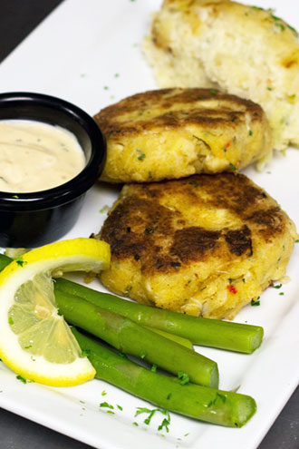Spring Hollow Golf Club - Chesapeake Crab Cakes reception dinner