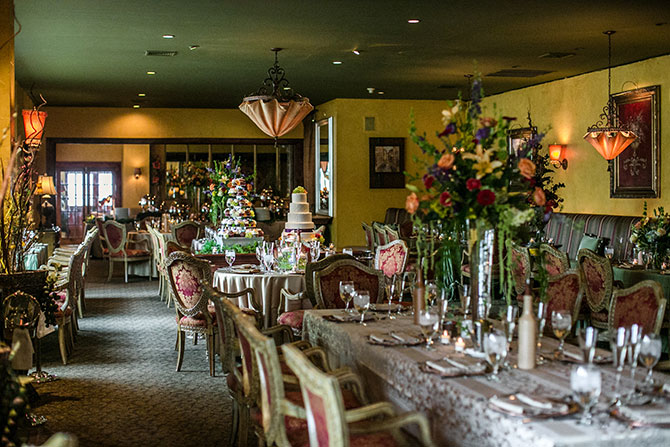 The Inn At Leola Village formal dining room