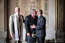 GLBT marriage ceremony officiated by Reverend Will Mercer