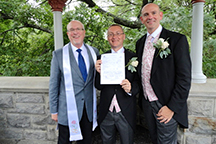 LGBT Marriage Ceremony offiated by Reverend Will Mercer