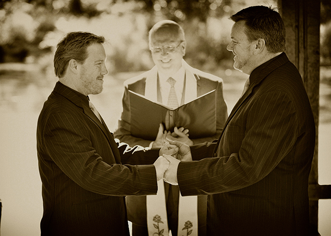 Same-Sex Marriage performed by Reverend Will Mercer