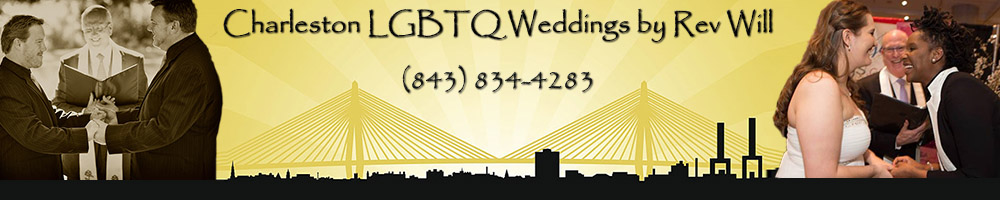 Charleston South Carolina Gay Wedding Officiant
