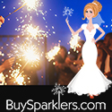 Florida Wedding Sparklers