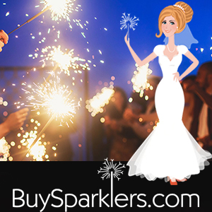 Miami Wedding Sparklers