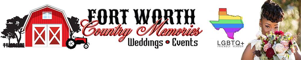 Fort Worth Texas LGBT Wedding Receptions