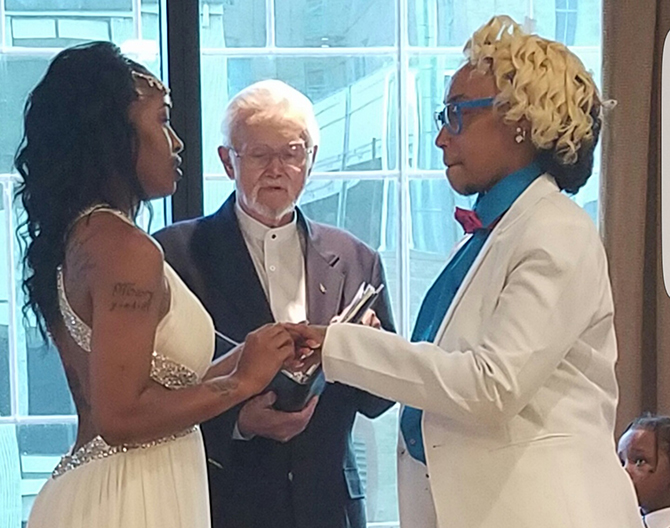 Dallas LGBT Wedding Ceremony