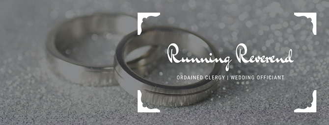 Ordained Clergy - Dallas Fort Worth - Texas LGBTQ Wedding Officiant - Running Reverend
