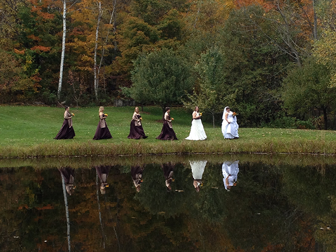 Vermont LGBT Wedding Party - Central Vermont LGBT Wedding Officiant - JP Greg Trulson