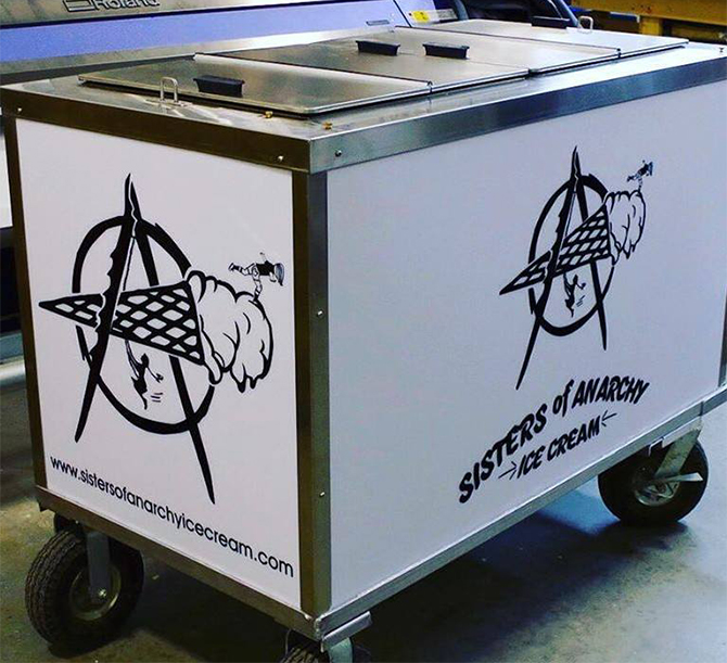 - Sisters of Anarchy Ice Cream Catering Company - Vermont, Massachusetts, New York