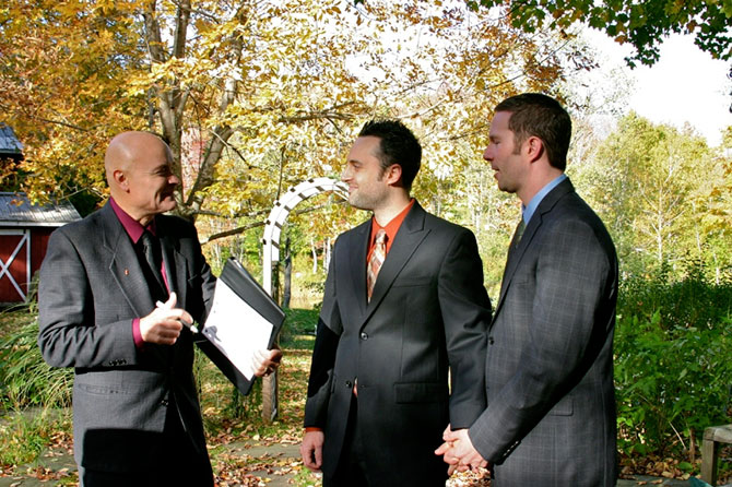 wedding gay vermont