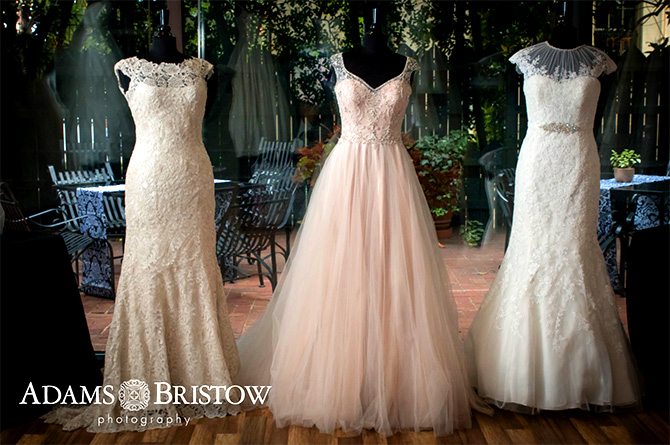 Butler's Unique Catering & Events - Bridal gowns