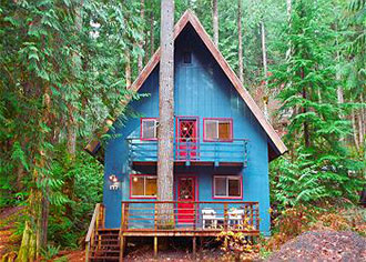 Mount Baker Lodging, Inc. - Cabin on acreage wooded setting
