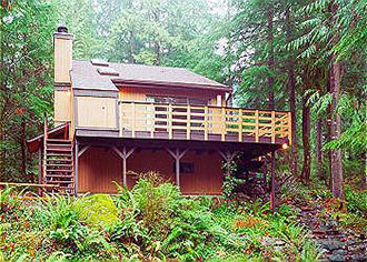 Mount Baker Lodging, Inc. - Home away from home outdoor hot tub