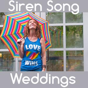 Siren Song Weddings LGBTQ Wedding Officiant in Tacoma Washington