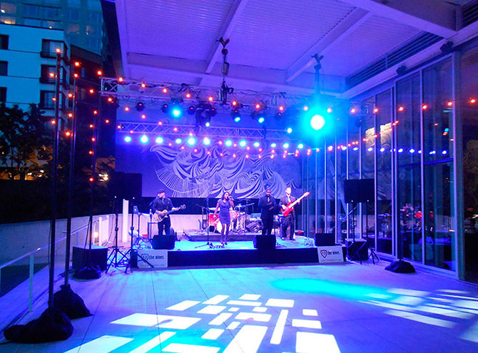 Lgbt Wedding Event Lighting Greater Puget Sound Area And